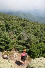 Hiking in the New Hampshire White Mountains